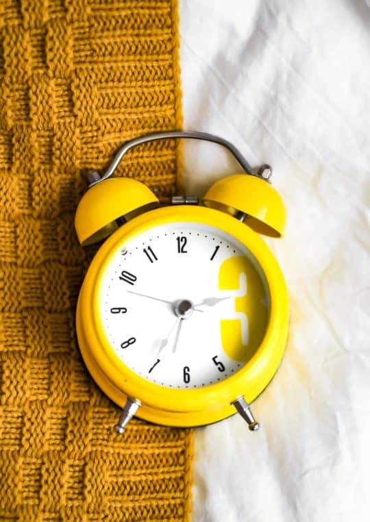 Ein Rhythmus gegen Schlafstörungn