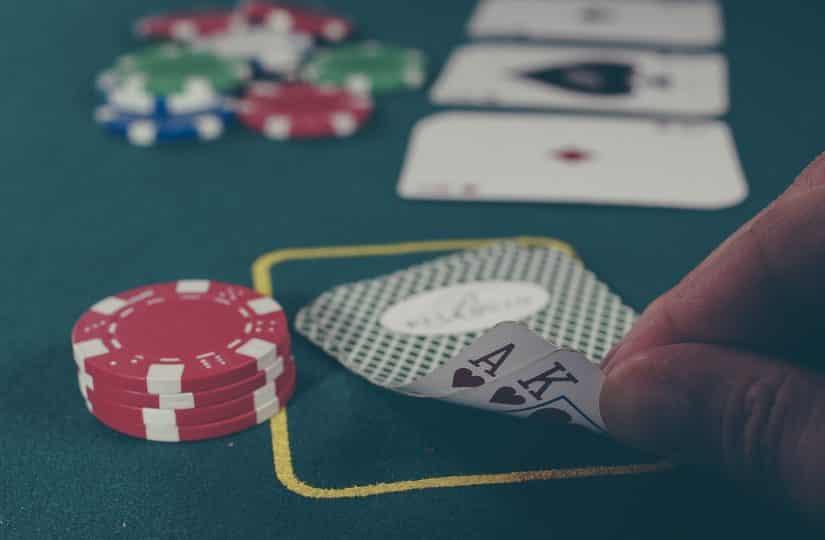 Auch beim Pokern kannst du scheitern