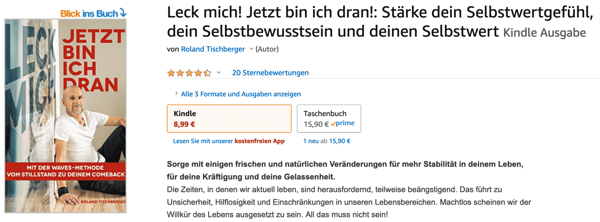 Die WAVES-Methode von burnoutside bei Amazon